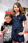UNIVERSAL CITY, CA. - March 21: Raymond Ochoa and Sammi Hanratty arrive at the premiere of ''How To Train Your Dragon'' at Gibson Amphitheater on March 21, 2010 in Universal City, California.