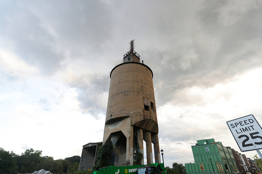 The coal tower in Charlottesville. Photo/Andrew Shurtleff Photography, LLC