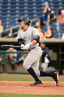 Tampa Yankees outfielder Aaron Judge (59) at bat during a game against the Clearwater Threshers on June 26, 2014 at Bright House Field in Clearwater, Florida.  Clearwater defeated Tampa 4-3.  (Mike Janes/Four Seam Images)