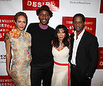 Nicole Ari Parker, Wood Harris, Daphne Rubin-Vega and Blair Underwood.attending the Broadway Opening Night After Party for 'A Streetcar Named Desire' on 4/22/2012 at the Copacabana in New York City.