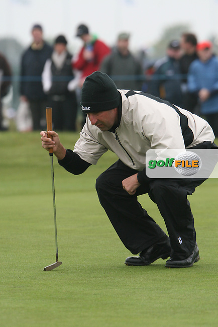 Jose Maria Olazabal at the Irish Open in Co.Louth Golf Club,  Baltray...Photo NEWSFILE/Jenny Matthews.(Photo credit should read Jenny Matthews/NEWSFILE)....This Picture has been sent you under the condtions enclosed by:.Newsfile Ltd..The Studio,.Millmount Abbey,.Drogheda,.Co Meath..Ireland..Tel: +353(0)41-9871240.Fax: +353(0)41-9871260.GSM: +353(0)86-2500958.email: pictures@newsfile.ie.www.newsfile.ie.FTP: 193.120.102.198.