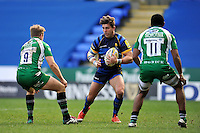 Wynand Olivier of Worcester Warriors in possession. Aviva Premiership match, between London Irish and Worcester Warriors on February 7, 2016 at the Madejski Stadium in Reading, England. Photo by: Patrick Khachfe / JMP