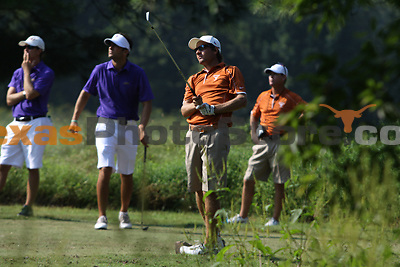 University of Texas senior Toni Hakula watches his drive during the Carpet Capital Collegiate at The Farm Golf Club in Rocky Face, Ga., on Sunday, Sept. 8. The Longhorns return to The Farm as defending champions after shooting a 13-under 851 in 2012.<br /> <br /> Photo by Patrick Smith