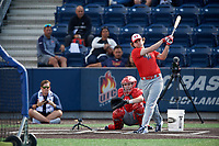 Blaze Jordan (7) during the Under Armour All-America Game Practice, powered by Baseball Factory, on July 21, 2019 at Les Miller Field in Chicago, Illinois.  Blaze Jordan attends DeSoto Central High School in Southaven, Mississippi and is committed to Mississippi State University.  (Mike Janes/Four Seam Images)