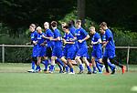 2018-06-22 / Voetbal / Seizoen 2018-2019 / ASV Geel / De kleine spelersgroep loopt warm voor de training<br /> <br /> ,Foto: Mpics