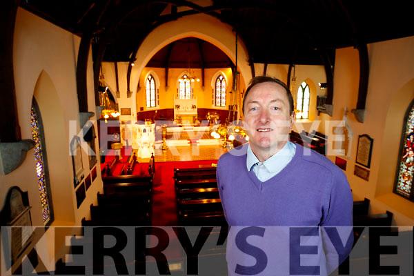 Saint John's Church Ashe Street Rev Jim Stephens.