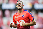 Jorge Resurreccion Merodio, Koke, of Atletico de Madrid is seen prior to the La Liga 2018-19 match between Atletico de Madrid and Rayo Vallecano at Wanda Metropolitano on August 25 2018 in Madrid, Spain. Photo by Diego Souto / Power Sport Images