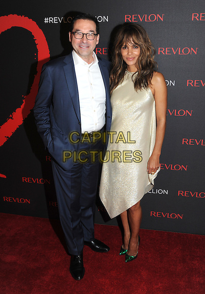 NEW YORK, NY - DECEMBER 1: Fabian Garcia and Halle Berry at Revlon's 2nd Annual Love Is On Million Dollar Challenge Finale Party at The Glasshouses in New York City on December 1, 2016. <br /> CAP/MPI/JP<br /> &copy;JP/MPI/Capital Pictures