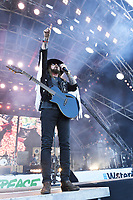 SHEPTON MALLET, ENGLAND - JUNE 30: Billy Ray Cyrus performing at Glastonbury Festival, Worthy Farm, Pilton, on June 30, 2019 in Shepton Mallet, England.<br /> CAP/MAR<br /> ©MAR/Capital Pictures