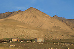 Camp, Sarychat-Ertash Strict Nature Reserve, Tien Shan Mountains, eastern Kyrgyzstan