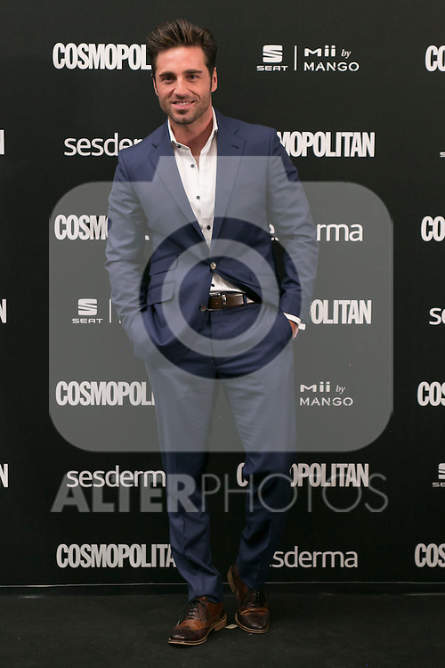 David Bustamante attend the photocall of the Cosmopolitan Fun Fearless Female 2014 Awards at the Ritz Hotel in Madrid, Spain. October 20, 2014. (ALTERPHOTOS/Carlos Dafonte)