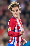 Antoine Griezmann of Atletico de Madrid looks on during their La Liga match between Atletico de Madrid vs Real Sociedad at the Vicente Calderon Stadium on 04 April 2017 in Madrid, Spain. Photo by Diego Gonzalez Souto / Power Sport Images