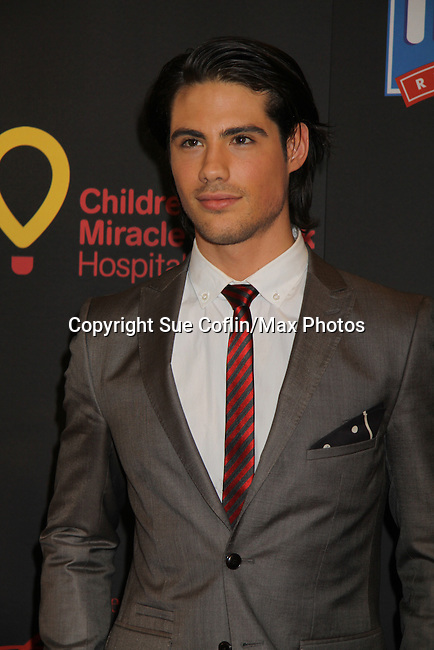 Days Of Our Lives Dario Hernandez at the 38th Annual Daytime Entertainment Emmy Awards 2011 held on June 19, 2011 at the Las Vegas Hilton, Las Vegas, Nevada. (Photo by Sue Coflin/Max Photos)