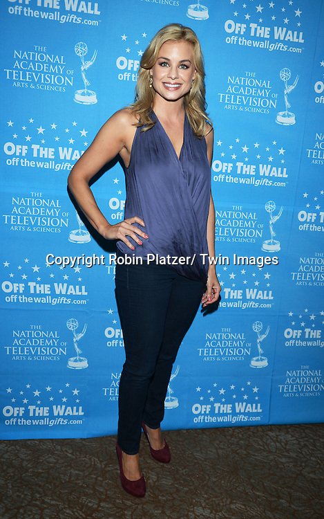 Jessica Collins attends the Gifting Suitefor the Daytime Emmy Awards by Off The Wall Productions on June 15, 2013 at the Beverly Hills Hotel in Beverly Hills, California.