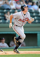 May 9, 2008: Freddie Freeman of the Rome Braves, Class A affiliate of the Atlanta Braves, in a game against the Greenville Drive at Fluor Field at the West End in Greenville, S.C. Photo by:  Tom Priddy/Four Seam Images