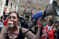 Movimenti per l'abitare protestano contro il Governo