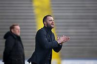 1st February 2020; Cappielow Park, Greenock, Inverclyde, Scotland; Scottish Championship Football, Greenock Morton versus Dundee Football Club; Dundee manager James McPake