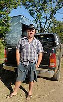 URUGUAY Bella Union, 2100 hectares farm with paddy, farmer Karol Pinczak who has polish roots / URUGUAY Bella Uniòn , 2100 Hektar Reis Farm der Brueder Karol und Aleco Pinczak, Nachkommen polnischer Einwanderer, Karol Pinczak