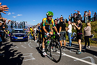 Picture by Alex Whitehead/SWpix.com - 30/09/2018 - Cycling - UCI 2018 Road World Championships - Innsbruck-Tirol, Austria - Elite Men's Road Race. Jacques Janse van Rensburg of South Africa.