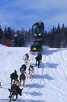 L Fiedler Leaving Grayling 99 Iditarod AK
