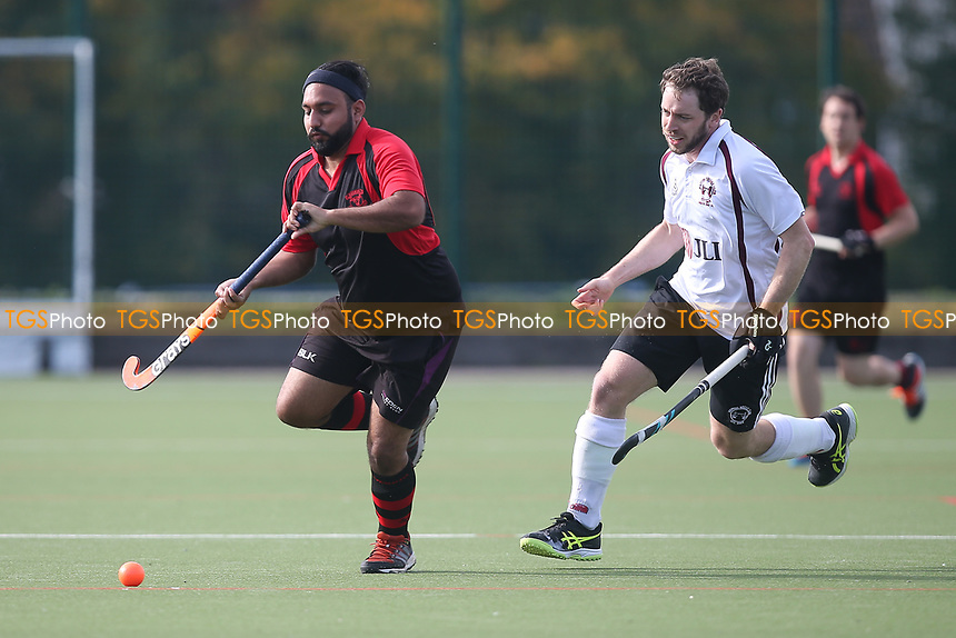 Havering HC vs Wapping HC 2nd XI, East Region League Field Hockey at Campion School on 13th October 2018