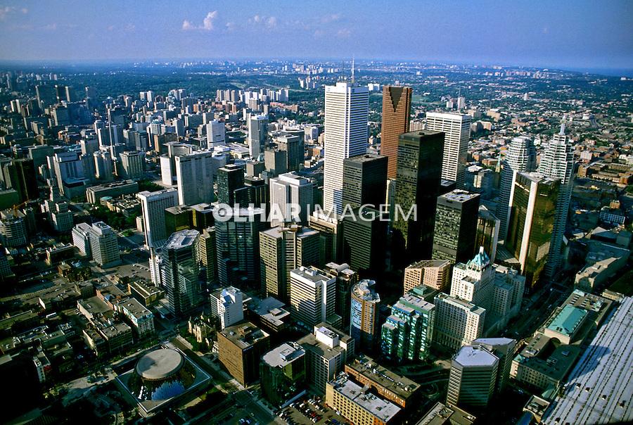 Cidade de Toronto. Canadá. 1986. Foto de João Caldas.