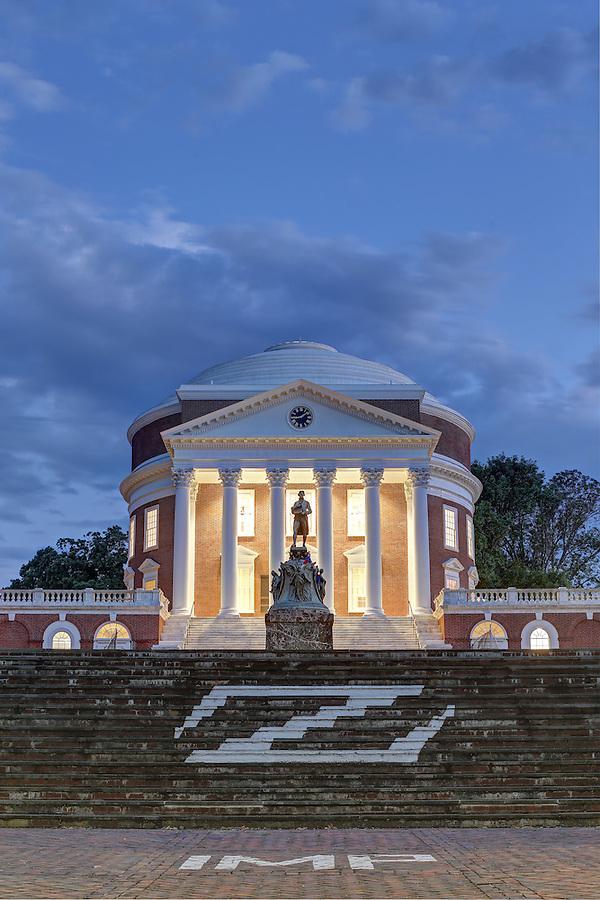 Newly renovated Rotunda at the University of Virginia in Charlottesville, Va. Photo/Andrew Shurtleff