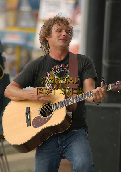 DIERKS BENTLEY.Performs at Jamboree in the Hills 2005, Morristown, Ohio, USA, July15th 2005..half length gig concert guitar music live .Ref: ADM.www.capitalpictures.com.sales@capitalpictures.com.©Kelly Blecher/AdMedia/Capital Pictures