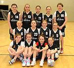 The St. Paul's Killarney U-12 Girls Basketball team.Front from left are Alanah Carroll,  Ellen Corridan, Ciara Randles and Ruth Courtney. Second  row from left are Ciara Moynihan, Sarah Byrnes, Annie O'Donoghue and Ellen Lyne. Back from left are Vanessa Galvin, Dawn Cronin, Mia Brennan, Abbie Cronin and Caoimhe Kelly.  Picture: Eamonn Keogh (MacMonagle, Killarney)