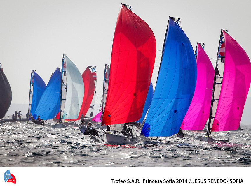 45 TROFEO PRINCESA SOFIA ,Palma de Mallorca, Spain, Jesus Renedo photography, Fleet, DAY 1