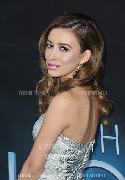 "Christian Serratos at the Los Angeles premiere of ""The Host"" at the Cinerama Dome, Hollywood..March 19, 2013  Los Angeles, CA.Picture: Paul Smith / Featureflash"