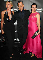HOLLYWOOD, LOS ANGELES, CA, USA - OCTOBER 29: Sharon Stone, Kenneth Cole, Kristin Davis arrive at the 2014 amfAR LA Inspiration Gala at Milk Studios on October 29, 2014 in Hollywood, Los Angeles, California, United States. (Photo by Celebrity Monitor)