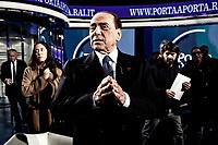 20190214 Silvio Berlusconi a Porta a Porta