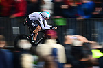 Christopher Froome (GBR) Team Sky in action during Stage 1, a 14km individual time trial around Dusseldorf, of the 104th edition of the Tour de France 2017, Dusseldorf, Germany. 1st July 2017.<br /> Picture: ASO/Alex Broadway | Cyclefile<br /> <br /> <br /> All photos usage must carry mandatory copyright credit (&copy; Cyclefile | ASO/Alex Broadway)