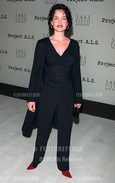 11FEB99:  Actress CARLA GUGINO at first annual Project A.L.S. benefit in Los Angeles.. Paul Smith / Featureflash