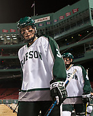 Matt Holtshouser (Babson - 3), Connor Dahlman (Babson - 4) - The UMass Boston Beacons defeated the Babson College Beavers 5-1 on Thursday, January 12, 2017, at Fenway Park in Boston, Massachusetts.