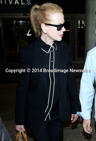 Pictured: Nicole Kidman<br /> Mandatory Credit &copy; CALA/Broadimage<br /> Nicole Kidman arriving at the Los Angeles International Airport<br /> <br /> 2/27/14, Los Angeles, California, United States of America<br /> <br /> Broadimage Newswire<br /> Los Angeles 1+  (310) 301-1027<br /> New York      1+  (646) 827-9134<br /> sales@broadimage.com<br /> http://www.broadimage.com