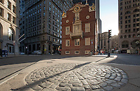 Old State House, Boston Massacre site, Boston, MA