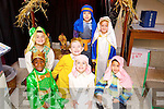 Pupils from Moyderwell Primary School who took part in their Christmas play on Friday were l-r: Leo Keane, Noel Roberts, John Paul Conway, Darragh O'Brien, William Sherin, Maja Cieslak and Shea Kelliher.