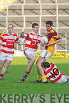 Duagh v Adrigole in their Munster Junior Club Football final in Fitzgerald Stadium on Saturday.