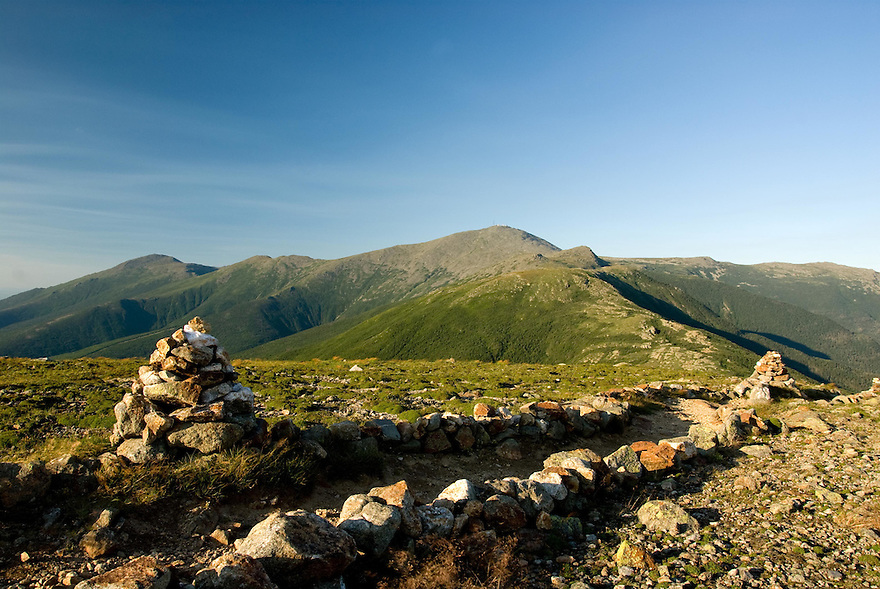 Looking towards Mt. Washington from near the summit of Mt. Eisenhower