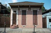 New Orleans:  810 Orleans St. --Shotgun house.