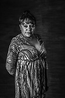 Ana Maria Velasco Rodriguez, 43, stands for a portrait on July 26, 2016 in Texcoco, Mexico. A decade after two-dozen women were sexually assaulted and beaten by police following protests outside of Mexico City, an international human rights commission is demanding a full investigation into the officials responsible for the incident and its potential cover-up, including the president of the country, Enrique Pena Nieto, who was the state governor at the time.<br /> She was in jail for 10 minutes. A decade after two-dozen women were sexually assaulted and beaten by police following protests outside of Mexico City, an international human rights commission is demanding a full investigation into the officials responsible for the incident and its potential cover-up, including the president of the country, Enrique Pena Nieto, who was the state governor at the time.<br /> I am not the same, I was very cheerful (alegre), &rdquo;pachanga para aqu&iacute; y para all&aacute;&rdquo; I am much more calmed now .<br /> &ldquo;I am not afraid anymore because there is nothing worse that could happen to me that what already did, nothing, but death, and I have never been afraid of death.&rdquo;<br /> Her family, specially her brothers, relatives, even one of her lawyers have adviced her to stop fighting and stop being involved in the legal battle and public decry and denounce of what happened in 2006. <br /> One of the policemen that she recognized who had beaten and sexually tortured, was  released from jail, even after he was found guilty. &ldquo;That has been the hardest most enraging part of all this process I was full of anger, of thinking nothing happens, even after you find who ever is guilty, who every personally attacked you, they can walk with a simple &ldquo;amparo.&rdquo;<br /> That is how justice works in Mexico. <br /> I find strength in my children and in the other women. <br /> Anita era empleada en mercado de Xhinconcuac. <br />  She lost her job when she got out. <br /