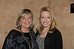 "One Life To Live's Kim Zimmer (host for the evening) poses with Meredith Patterson (AMC - ""Francesca"" and wedding planner for ""Olivia"" on GL) & producer for this show & sang """"Dream a Little Dream"" at the 4th Annual Curtains Up for a Cure Concert benefitting Huntington's Disease Society of America on January 31, 2011 at Village Cinema East, New York City, New York. (Photo by Sue Coflin/Max Photos)"