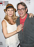 Kelli O'Hara and Matthew Broderick attends the Seth Rudetsky Book Launch Party for 'Seth's Broadway Diary' at Don't Tell Mama Cabaret on October 22, 2014 in New York City.