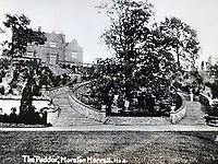 BNPS.co.uk (01202 558833)<br /> Pic: MrAndMrsClarke/BNPS<br /> <br /> Historic... The Paddox. The original property at Moreton Paddocks. The Edwardian Mansion that was requisitioned for the occupation of hundreds of Czechoslovak soldiers during the Second World War. Winston Churchill came to inspect the troops when they were stationed at the house.<br /> <br /> A luxury house on an English country estate where the Allies plotted the infamous assassination of one of Adolf Hitler's top henchmen has gone on the market.<br /> <br /> Rooftops, a Norwegian-style chalet, is located on the Moreton Paddox estate in Warwickshire where 4,000 Czech soldiers were billeted during the Second World War.<br /> <br /> The plot to assasinate Nazi monster SS General Reinhard Heydrich involved two Czech soldiers who parachuted into Prague where they attacked and killed him as he was driven to work. <br /> <br /> His death led to appalling Nazi reprisals on locals, with more than 1,300 men, women and children massacred.<br /> <br /> The Edwardian mansion at Moreton Paddox that was requisitioned for the war effort was later demolished and Rooftops was built on the grounds in 2009.