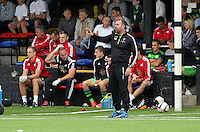 Pictured: Merthyr Town manager Saturday 11 July 2015<br />