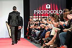 Fashion show of the mark Protocolo during the MFSHOW 16 in Madrid, February 05, 2016.<br /> (ALTERPHOTOS/BorjaB.Hojas)