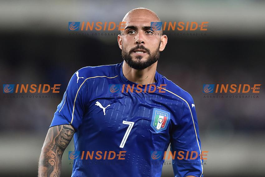 Simone Zaza Italia <br /> Verona 06-06-2016 Stadio Bentegodi Football Friendly Match Italia - Finlandia / Italy - Finland . Foto Andrea Staccioli / Insidefoto