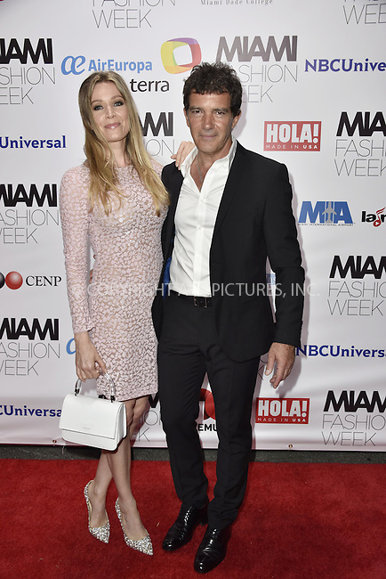 WWW.ACEPIXS.COM<br /> <br /> June 4 2016, Miami<br /> <br /> Nicole Kimpel and Antonio Banderas arriving at the Miami Fashion Week Soiree at the Vizcaya Museum &amp; Gardens on June 4, 2016 in Miami, Florida<br /> <br /> <br /> By Line: Solar/ACE Pictures<br /> <br /> <br /> ACE Pictures, Inc.<br /> tel: 646 769 0430<br /> Email: info@acepixs.com<br /> www.acepixs.com